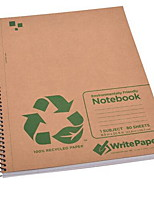 Kraft Paper Notebook 2pcs