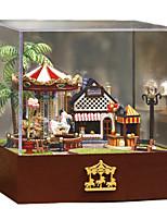 Dollhouse Novelty & Gag Toys Square Wood