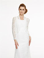 Women's Wrap Coats/Jackets Lace Wedding Party/ Evening Lace
