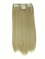 Mit Clip Synthetik Haarverlängerungen 140 Haar-Verlängerung