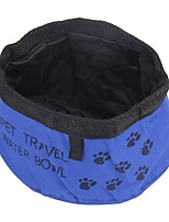 Cat Dog Bowls & Water Bottles Feeders Pet Bowls & Feeding Portable Blue Green Red