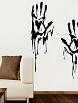 2pcs per Set Shapes Wall Stickers Plane Wall Stickers Decorative Wall StickersVinyl Material Home Decoration Wall Decal
