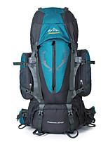85 L Заплечный рюкзак Восхождение Спорт в свободное время Отдых и туризм Дожденепроницаемый Защита от пыли Дышащий Многофункциональный