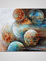 Estampados de Lonas Esticada Abstrato Moderno,1 Painel Tela Horizontal Impressão artística Decoração de Parede For Decoração para casa