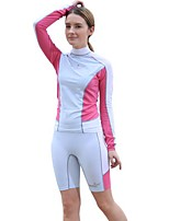 Women's Shorty Wetsuit Breathable Quick Dry Anatomic Design Chinlon Diving Suit Short Sleeve Diving Suits-Diving Spring Summer Fashion