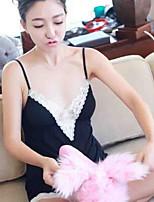 Jarretelles & Bretelles Vêtement de nuit Femme,DentelleMince Coton