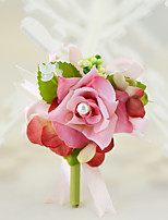 YUXIYING Curly Edge Rose Wedding Corsage