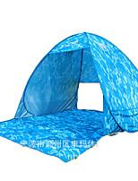 2 человека Световой тент Один экземляр Автоматический тент Однокомнатная Палатка Нержавеющая сталь Переносной-Походы Путешествия