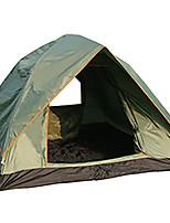 3-4 человека Световой тент Двойная Автоматический тент Однокомнатная Палатка 1000-1500 мм Стекловолокно ОксфордВлагонепроницаемый