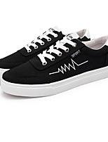 Men's Sneakers Spring Summer Fall Comfort Fabric Casual Flat Heel Lace-up