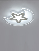 The Stars and The Moon LED Acrylic Children Room Light Stepless Dimming Sitting Room Lamp Remote Control Diameter 50cm