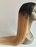 Hot !!! High Quality 8-26 100% Brazilian Human Virgin Hair Silky Straight Lace Front Wig Gueless Lace Front Wig For Woman with Baby Hair