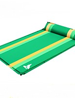 Moistureproof/Moisture Permeability Inflated Mat Green Hiking Camping Traveling