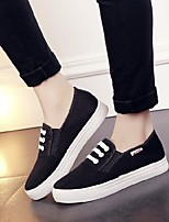 Women's Flats Spring Comfort PU Canvas Casual