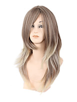 Hot Style in Europe and the Volume Classification Hair Blonde Gradient Ladies Fashion Wig 18inch
