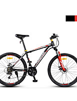 Mountain Bike Cycling 24 Speed 24 Inch SHIMANO EF-51 Double Disc Brake Suspension Fork Steel Frame Anti-slip PVC Steel