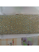 Women Special Material Event/Party Wedding Evening Bag Silver Black Gold