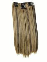 Com Presilha Sintético Extensões de cabelo 140 Alongamento