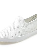 Damen-Loafers & Slip-Ons-Lässig-PU-Flacher Absatz-Komfort-