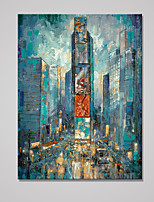 Estampados de Lonas Esticada Paisagem Estilo Europeu,1 Painel Tela Vertical Impressão artística Decoração de Parede For Decoração para