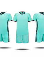 Men's Soccer Jersey + Shorts Breathable Spring Summer Winter Fall/Autumn Classic Polyester Football/Soccer