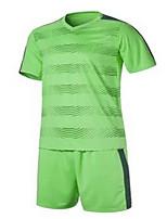 Unisexe Football Survêtement Respirable Confortable Couleur Pleine Polyester Football