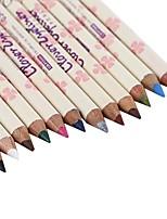Lápices de Ojos Lápiz Seco Gloss colorido Natural Ojos