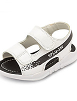 Boys' Sandals Summer First Walkers Leatherette Casual Flat Heel