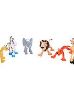 Cute cartoon animal toys  6ps