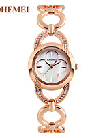 Women's Women Necklace Watch Simulated Diamond Watch Japanese Quartz Water Resistant / Water Proof Alloy Band Charm Unique Creative Luxury