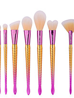 7 Brush Sets Nylonkwast Professioneel Reizen Milieuvriendelijk Draagbaar