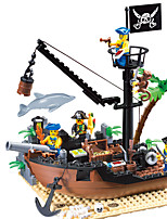 Building Blocks For Gift  Building Blocks Leisure Hobby Ship ABS 5 to 7 Years 8 to 13 Years 14 Years & Up Toys