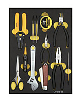 STANLEY Advanced Telecommunication Toolbox Set 12 Pieces LT-018-23 Household Electronic Tools