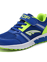 Boys' Athletic Shoes Spring Fall Comfort Tulle Casual Flat Heel Lace-up Royal Blue Black/Red Walking