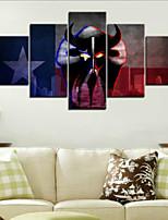 Художественная печать Животное Modern,5 панелей Горизонтальная Печать Искусство Декор стены For Украшение дома