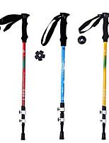 5 Bengalas para Caminhar Nórdicas 1 Pças. 135 centímetros (53 polegadas) Húmido Dobrável Peso Leve Ajustável Fibra de CarbonoAcampar e