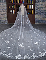 Wedding Veil One-tier Cathedral Veils Lace
