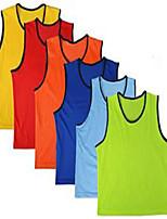Unisexe Football Survêtement Confortable Eté Automne Hiver Couleur Pleine Polyester Football