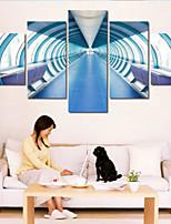 Художественная печать Абстракция Modern,5 панелей Горизонтальная Печать Искусство Декор стены For Украшение дома