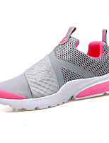 Women's Sneakers Spring Summer Comfort Couple Shoes Fabric Outdoor Athletic Casual Flat Heel Light Pink Black/White Gray Black Running