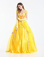 Sexy Princess Belle Costume Adult Fantasia Cosplay Women Beauty  Costume Renaissance Princess Dress Halloween Carnival Costumes