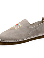 Men's Loafers & Slip-Ons Spring Summer Comfort Fabric Outdoor Office & Career Casual Walking