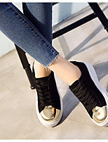 Women's Sneakers Summer Light Up Shoes Rubber Casual Black