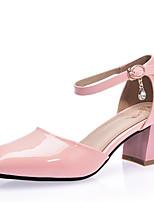 Femme-Mariage Extérieure Bureau & Travail Décontracté Soirée & Evénement Habillé--Gros Talon-Confort-Chaussures à Talons-Polyuréthane