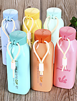Creative Colorful Glass Bottle With Rope (Random Colors)