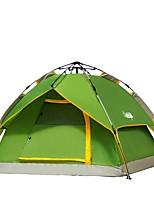 3-4 человека Световой тент Двойная Однокомнатная ПалаткаПоходы Путешествия-