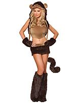 Cosplay Kostýmy Zvířecí Festival/Svátek Halloweenské kostýmy Ostatní Kabát Sukně Rukavice Návleky na nohy Klobouky Halloween Dámské