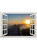 3D Wall Stickers Wall Decals Style The Sun of Dawn PVC Wall Stickers