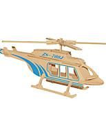 Rompecabezas Puzzles 3D Bloques de construcción Juguetes de bricolaje Aeronave Madera Modelismo y Construcción