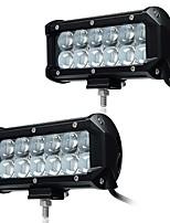 Kawell 2pcs 6.5 36w вело свет пятна работы адвокатского сословия пятна 30 градусов 4d водить свет водоустойчивое 9-32v для внедорожника